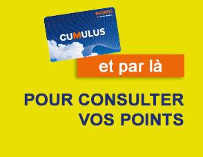 Consulter vos points Cumulus